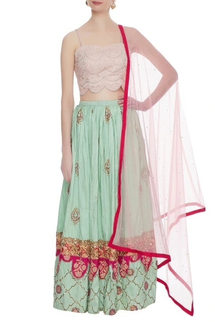 Latest Collection of Lehengas by Divya Kanakia