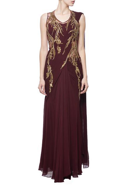 Latest Collection of Saris by Gaurav Gupta