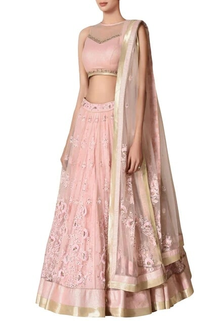 Latest Collection of Lehengas by Ritu Kumar