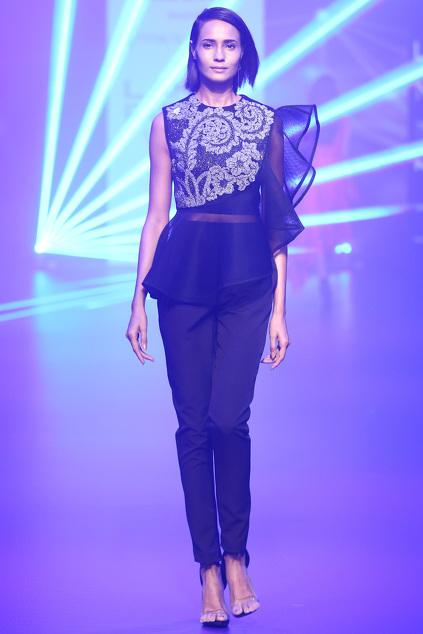 Latest Collection of Tops by Pankaj & Nidhi