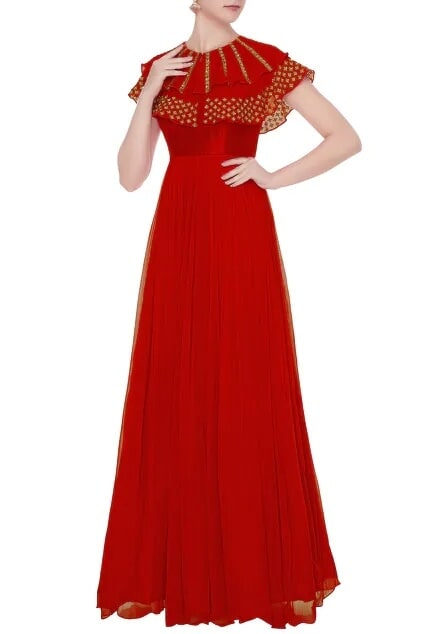 Latest Collection of Gowns by Mrunalini Rao