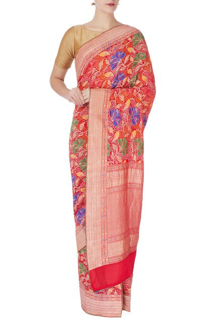 Latest Collection of Saris by Naina Jain