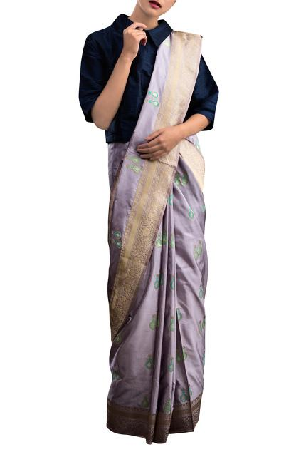 Latest Collection of Saris by Pinki Sinha