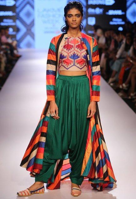 Latest Collection of Pant Sets by Swati Vijaivargie