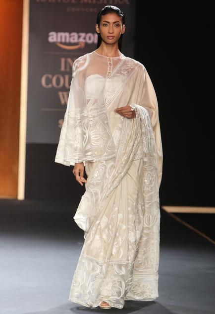 Latest Collection of Saris by Rahul Mishra