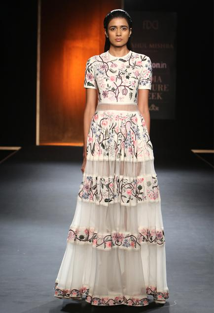 Latest Collection of Gowns by Rahul Mishra