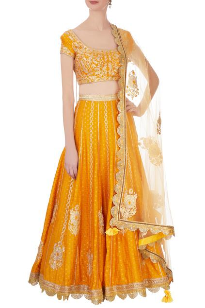Latest Collection of Lehengas by Shyam Narayan Prasad