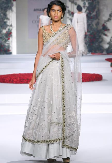 Latest Collection of Saris by Varun Bahl
