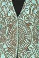 Sonaakshi RaajAqua embroidered blazer