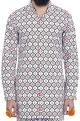 Mr. Ajay Kumar - Men White motif print shirt