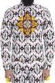 Mr. Ajay Kumar - MenWhite motif print shirt