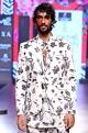 Mr. Ajay Kumar - Men White printed blazer