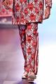 Mr. Ajay Kumar - Men Red snake & floral print trousers