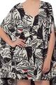 Masaba Ivory printed slip dress