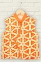 MinikinOrange printed kurta set