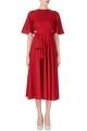 Red cutout style dress