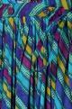 Multicolored crossover printed kurta