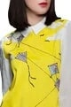 Shahin Mannan Yellow peter pan collar dress