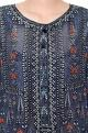 Anita DongreGrey modal printed kurta