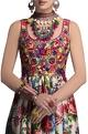 Payal JainMulticolored embroidered & printed gown