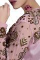 Nidzign CouturePink embellished georgette jumpsuit