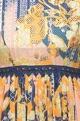 Multicolored jacquard maxi dress