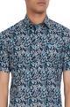 Paisley printed kurta shirt.