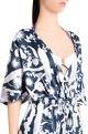 Shivan and Narresh White printed crepe izu juno printed jumpsuit