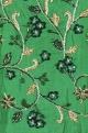 Goblin green net hand-embroidered lehenga set