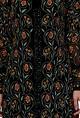 Nakul SenBlack floral embroidered kurta set