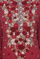 Varun BahlMaroon rose embroidered kurta set