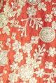 Prathyusha GarimellaDeep orange & mint embroidered lehenga set