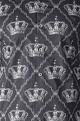 Paresh LambaBlack crown printed shirt