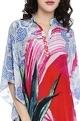 Falguni Shane PeacockMulti-colored printed kaftan dress