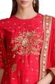 Sahil KochharRaspberry pink sequined embroidered kurta set