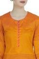 Textured kurta with side slits