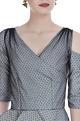 One shoulder sleeve peplum top