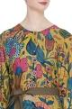 Kalamkari hand painted shirt dress