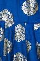 Shruti Jalan Cold shoulder floral print gown