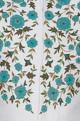 Floral embroidered bundi jacket