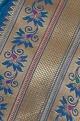 Self woven banarasi sari with unstitched blouse