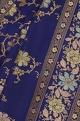 Handloom sari with unstitched blouse