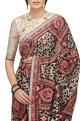 Tarun Tahiliani Hand embroidered sari with blouse and petticoat