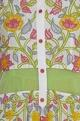 Floral embroidered jacket with inner kurta