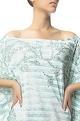 Siddhartha Tytler Sequin embroidered off shoulder dress