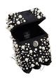 THE RIGHT SIDED x RIDHI MEHRA Pearl embellished square box clutch