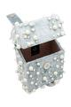THE RIGHT SIDED x RIDHI MEHRA Embellished square box clutch