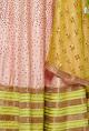 Divya Reddy Rose pink & lime green embroidered lehenga set
