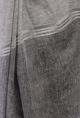 Charcoal & white dye sari