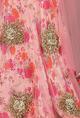 Bhumika SharmaCarnation pink floral printed lehenga set